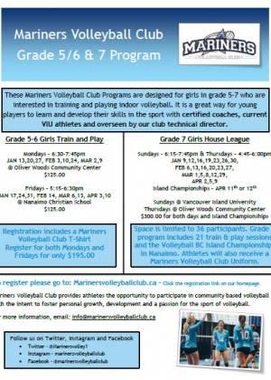MVC Grade 5-7 Program